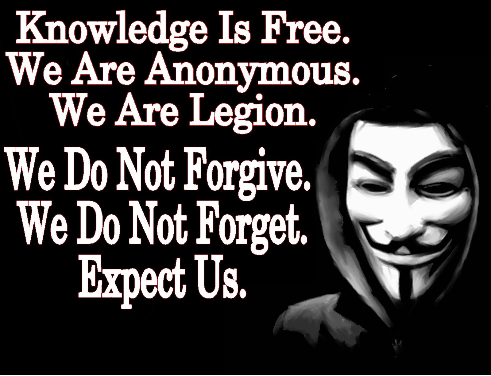 how to talk to anonymous hackers